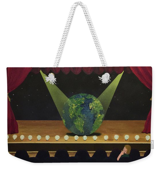 All The World's On Stage Weekender Tote Bag