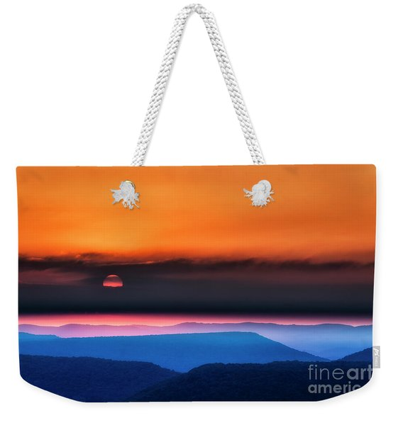 Allegheny Mountain Sunrise 2 Weekender Tote Bag