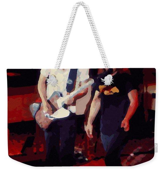 Allen And Ronnie Winterland 1 Weekender Tote Bag