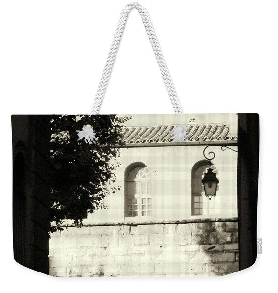 Alley Mystery Weekender Tote Bag