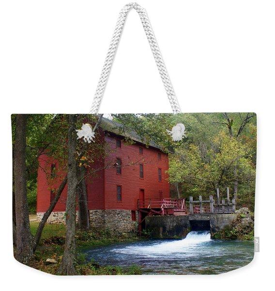 Alley Sprng Mill 3 Weekender Tote Bag
