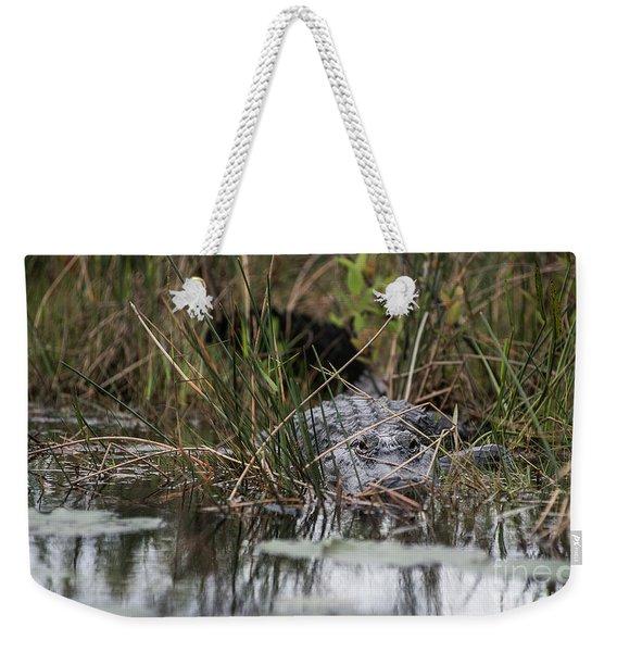 Alligator Lurks-0620 Weekender Tote Bag