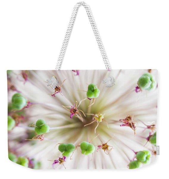 Allium Zoom Weekender Tote Bag