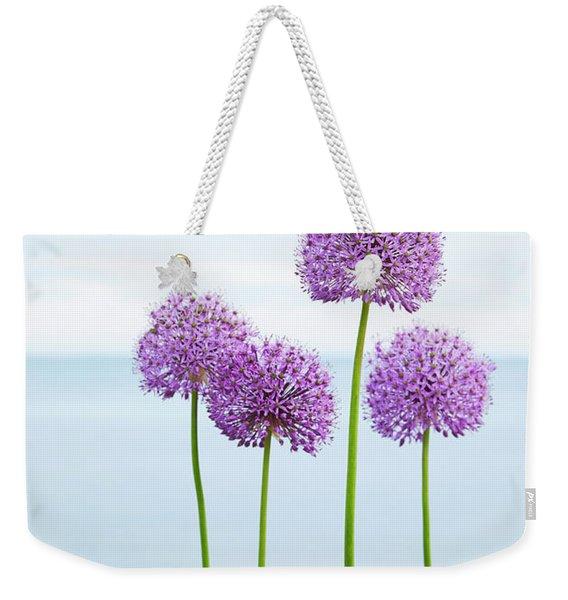 Alliums 2 Weekender Tote Bag