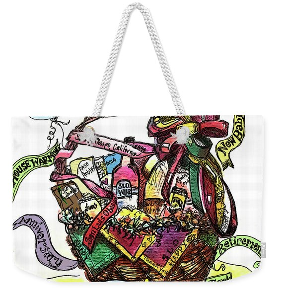 Alloccasionsbasket Weekender Tote Bag