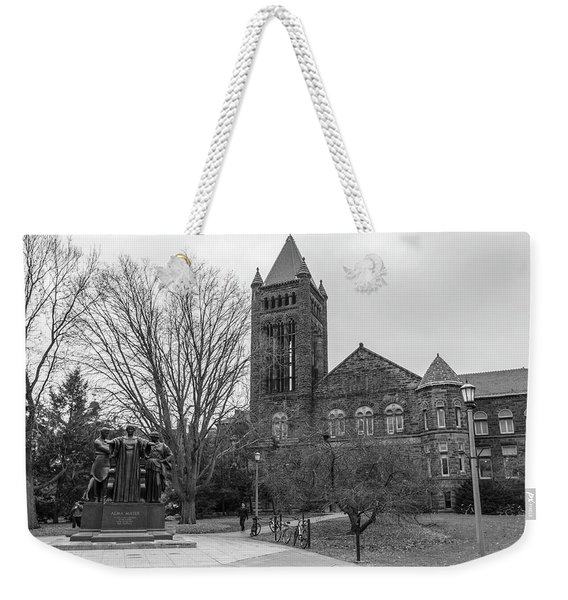 Alma Mater And Law Library University Of Illinois  Weekender Tote Bag