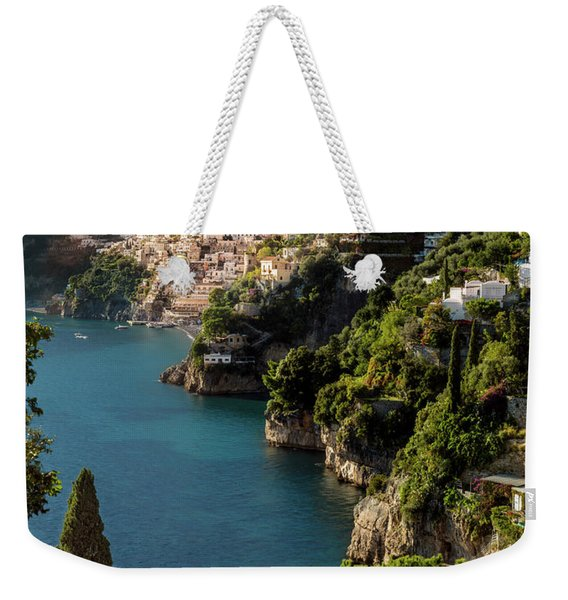 Weekender Tote Bag featuring the photograph Almalfi Coast by Brian Jannsen