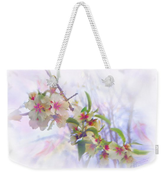 Almond Blossoms Weekender Tote Bag