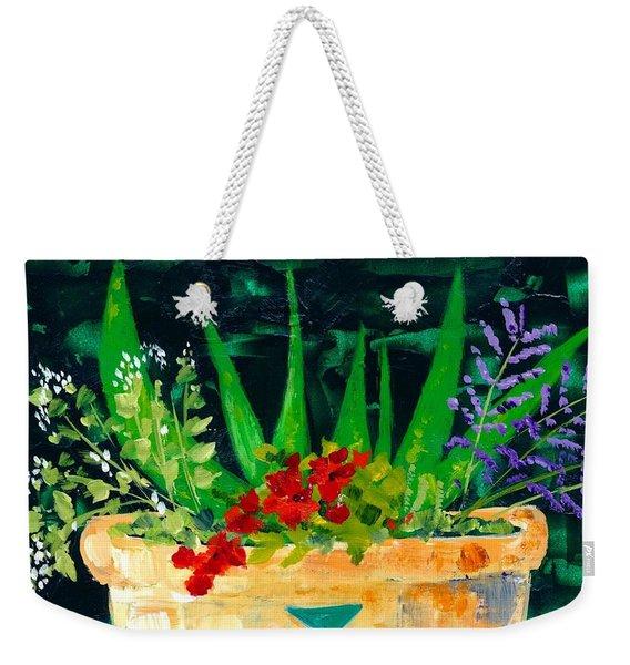 Aloe Vera And Friends  Weekender Tote Bag