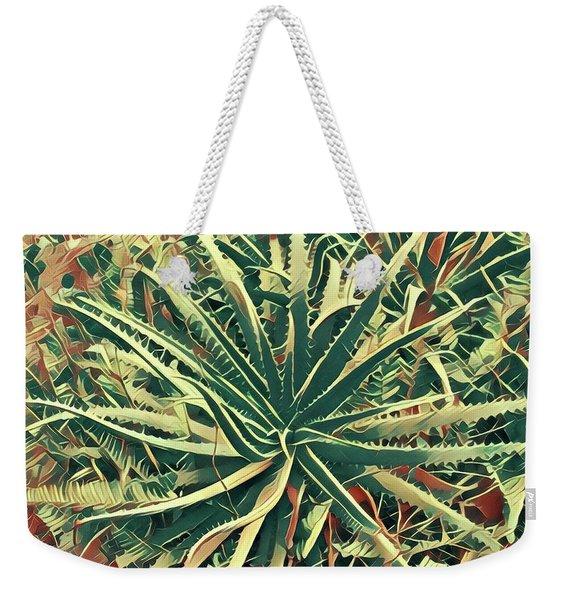 Aloha Aloe In Puna Weekender Tote Bag