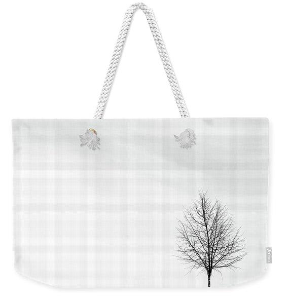 Alone In The Storm Weekender Tote Bag