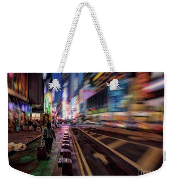 Alone In New York City 2 Weekender Tote Bag