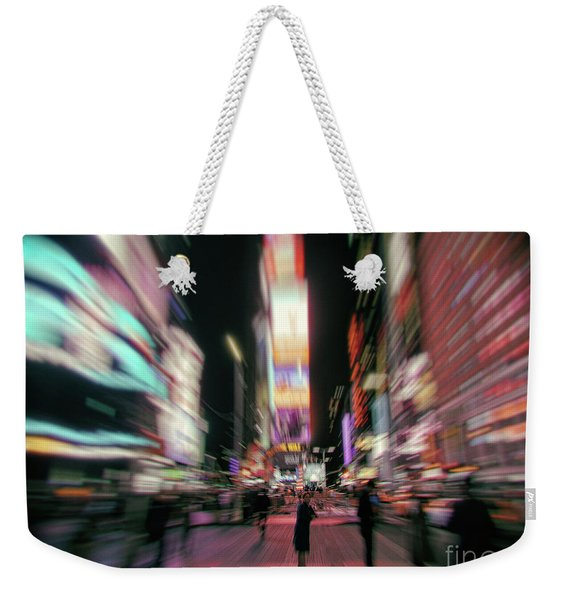 Alone In New York City 3 Weekender Tote Bag
