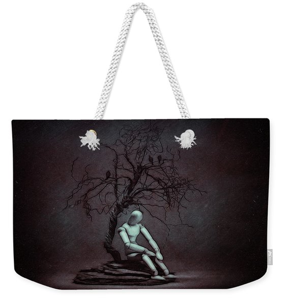Alone In The Dark Weekender Tote Bag