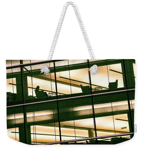 Alone In The Temple Weekender Tote Bag