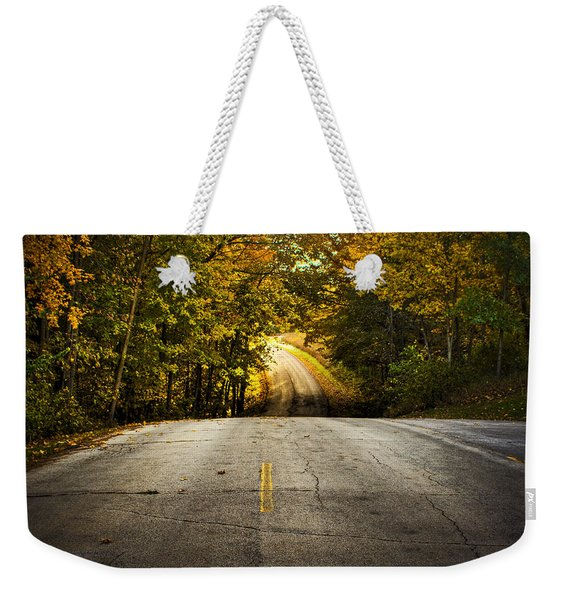 Along The La Aqua Na Circle Road Weekender Tote Bag