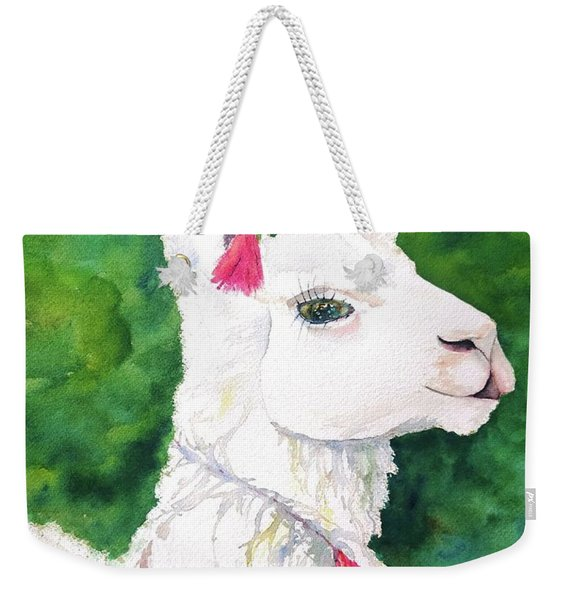 Alpaca With Attitude Weekender Tote Bag
