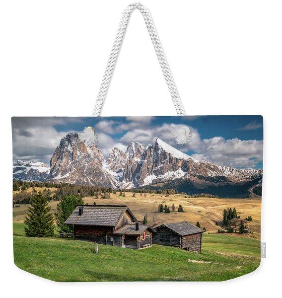 Alpe Di Suisi Cabin Weekender Tote Bag