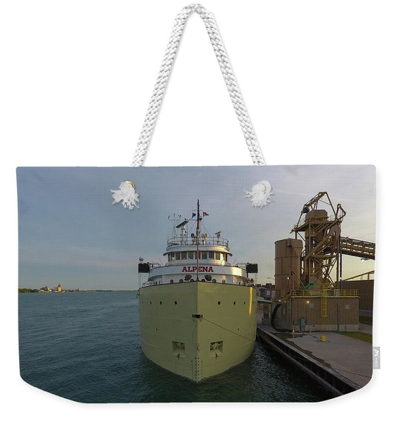 Alpena In Detroit Weekender Tote Bag