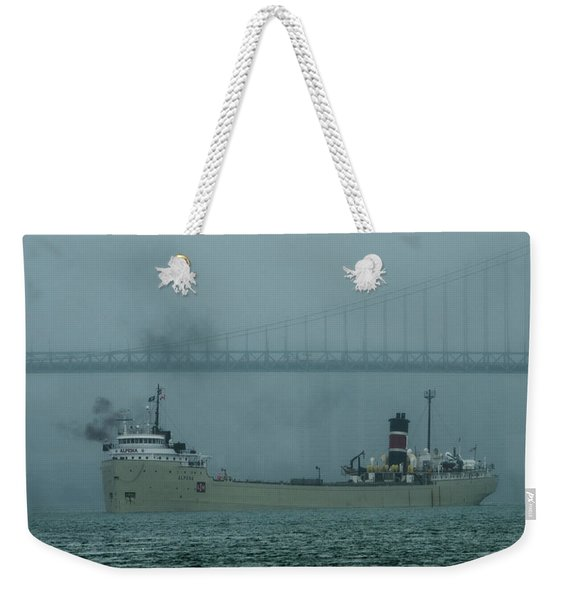 Alpena In The Fog Weekender Tote Bag