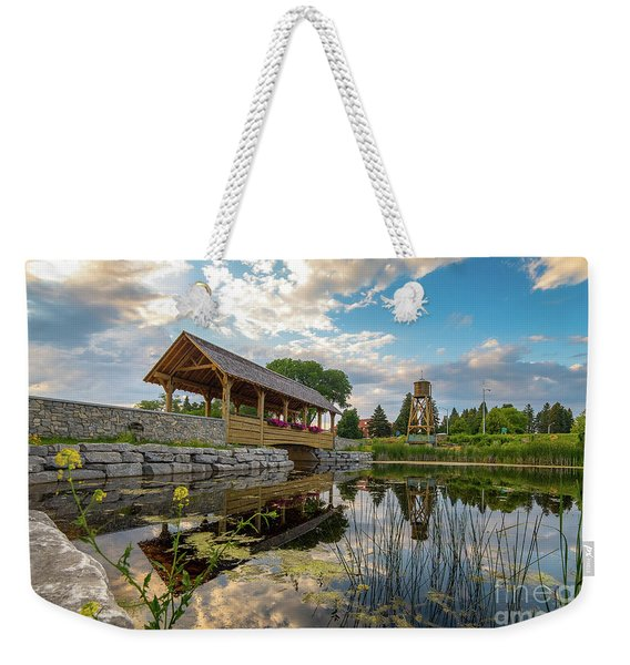 Alpena Michigan Duck Park -0257 Weekender Tote Bag