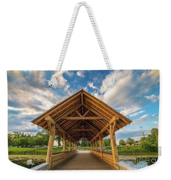 Alpena Michigan Duck Park -0263 Weekender Tote Bag