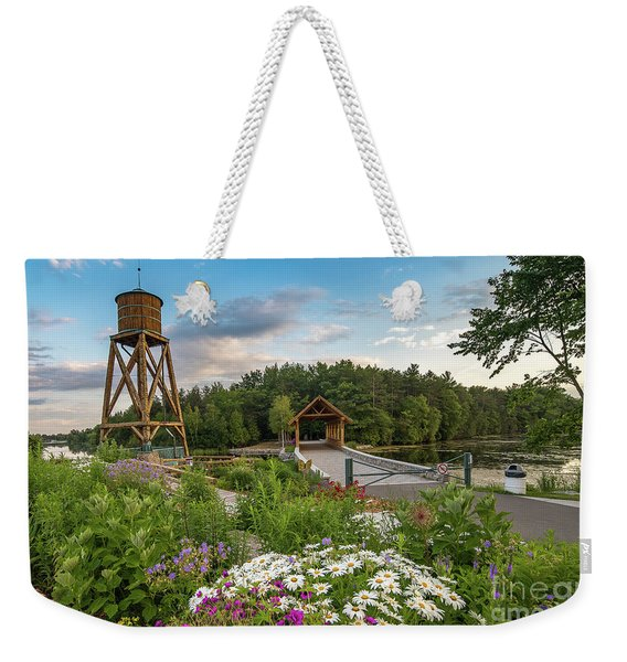 Alpena Michigan Duck Park -0269 Weekender Tote Bag