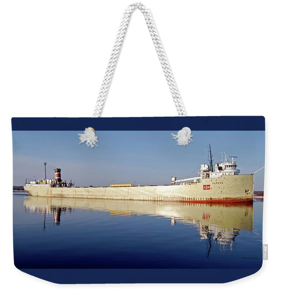 Alpena Reflection  Weekender Tote Bag