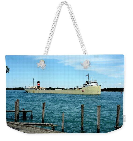 Alpena Ship Weekender Tote Bag