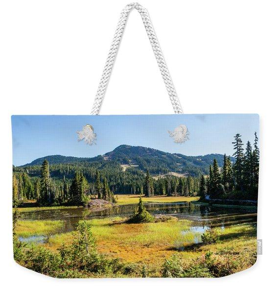 Alpine Meadows - 1 Weekender Tote Bag