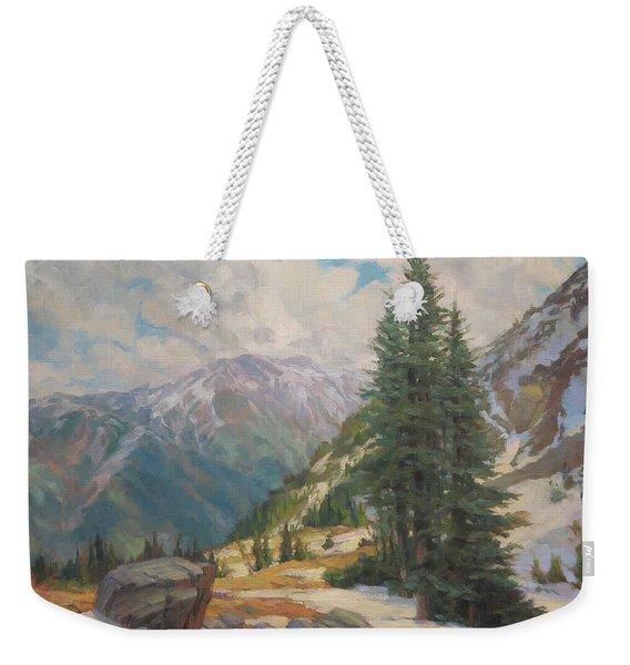 Alpine Spring  Weekender Tote Bag