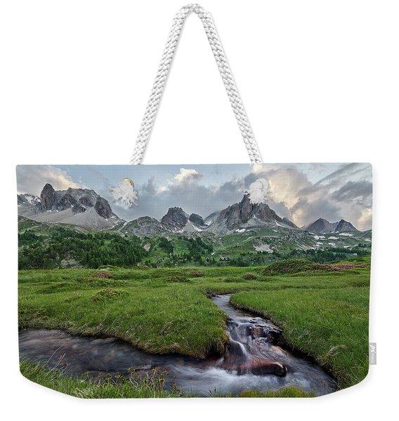 Alps In The Afternoon Weekender Tote Bag