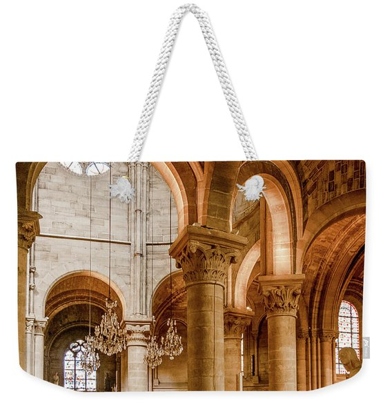 Poissy, France - Altar, Notre-dame De Poissy Weekender Tote Bag