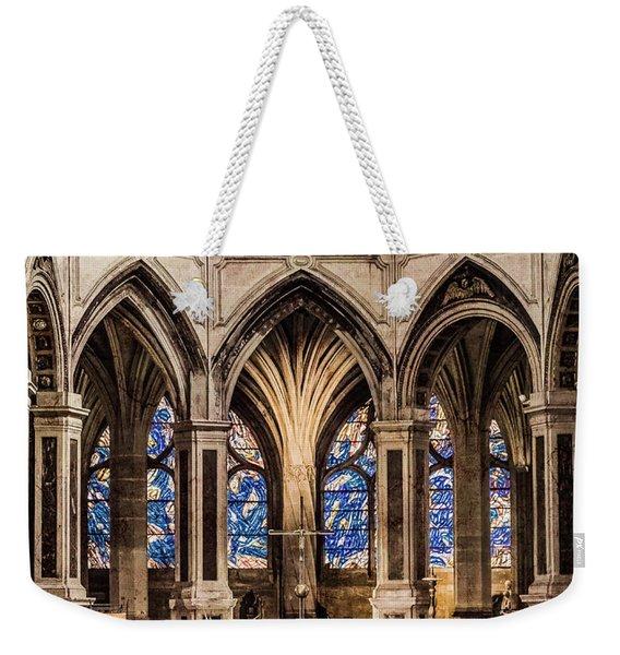 Paris, France - Altar - Saint-severin Weekender Tote Bag