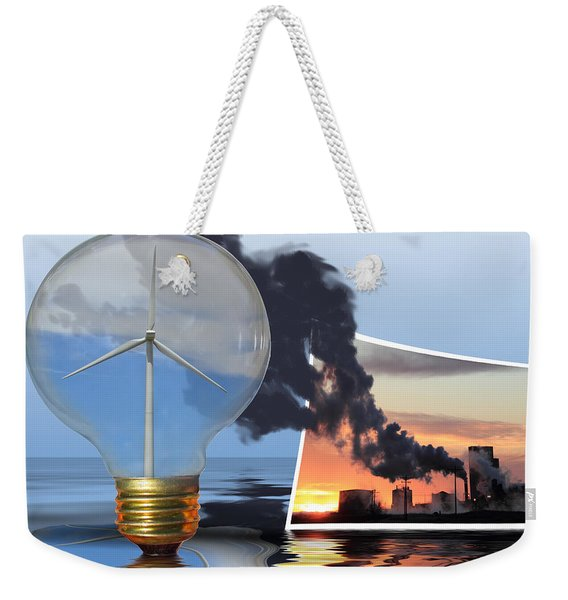 Alternative Energy Weekender Tote Bag
