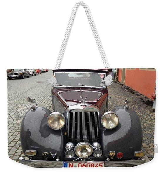 Alvis Weekender Tote Bag