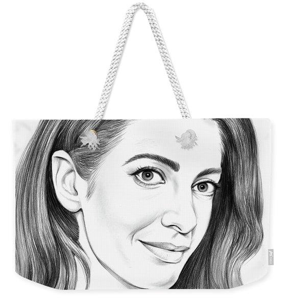 Amal Clooney Weekender Tote Bag