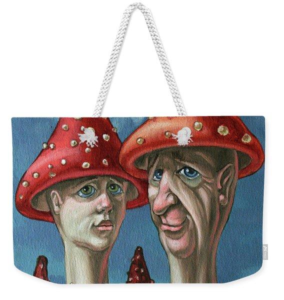 Amanitas Weekender Tote Bag