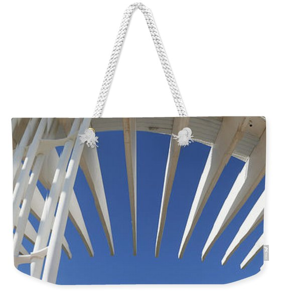 Amazing Architecture That Defies Gravity Weekender Tote Bag