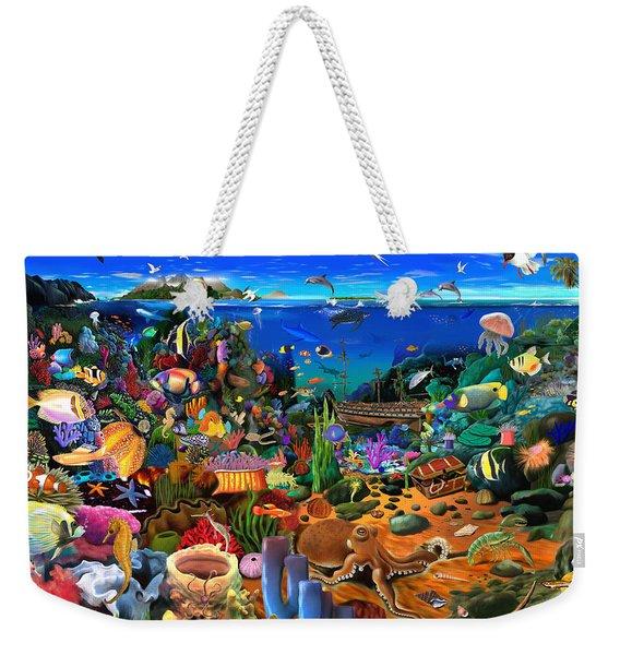 Amazing Coral Reef Weekender Tote Bag