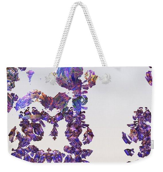 Amazing Delicate Fractal Pattern Weekender Tote Bag