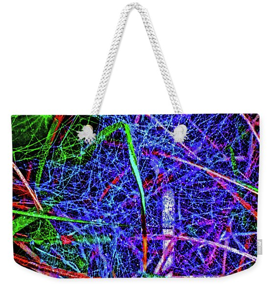 Amazing Invisible Web Weekender Tote Bag