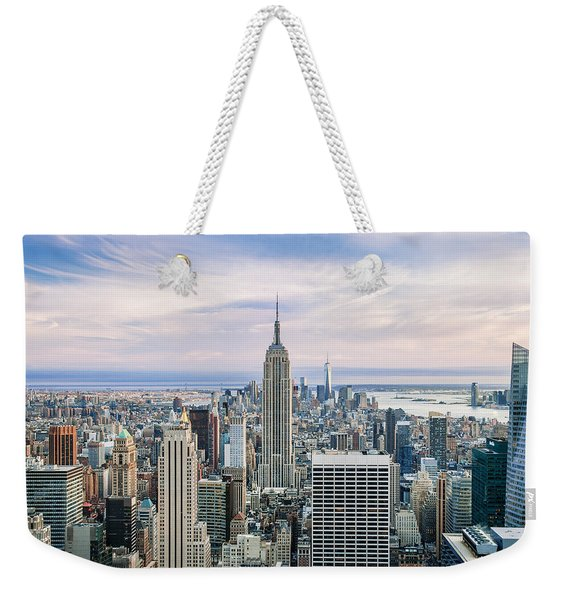 Amazing Manhattan Weekender Tote Bag