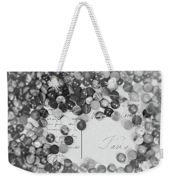 Amber #0502 Bw Weekender Tote Bag