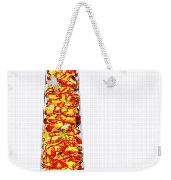 Amber #8429 Weekender Tote Bag