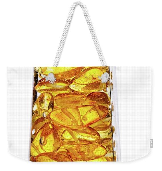 Amber #8527 Weekender Tote Bag