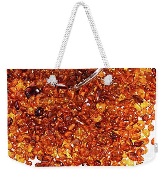 Amber #8595 Weekender Tote Bag