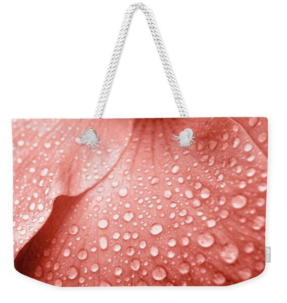 Amber Droplets Weekender Tote Bag