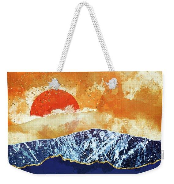 Amber Dusk Weekender Tote Bag
