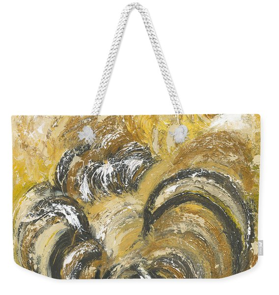 Amber Is The Color Of Your Energy Weekender Tote Bag